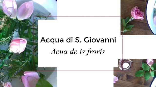 Acqua di S.Giovanni